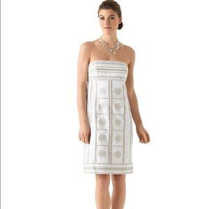 WHBM NEW strapless embellished dress size 14